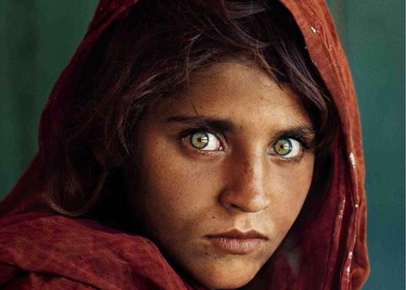 Afghan girl - Nat Geo