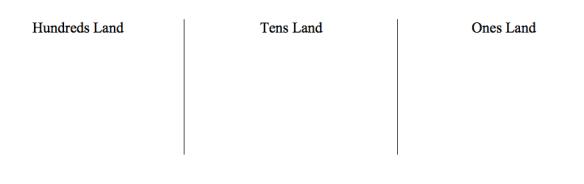 three lands