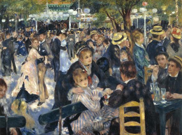 Bal du moulin de la Galette - Pierre-August Renoir