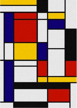 Composition in red, Blue, and Yellow - Piet Mondrian
