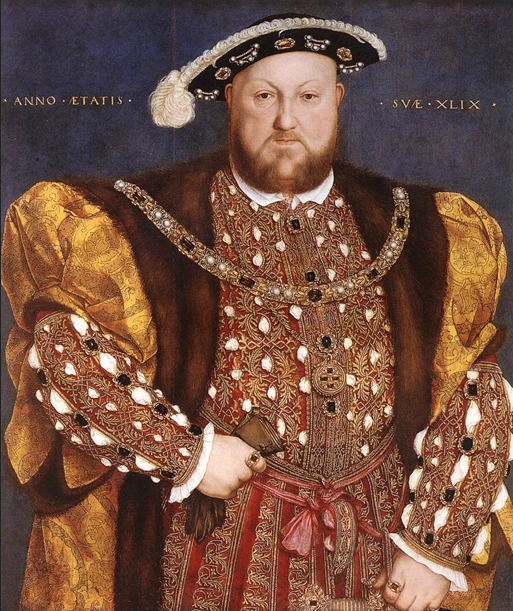 King Henry VIII - Hans Holbein
