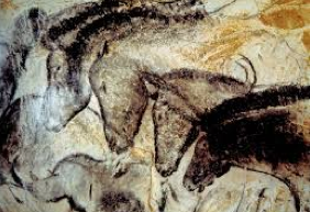 Chauvet Cave Paintings - Horses