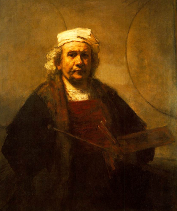Self portrait - Rembrandt Harmenszoon van Rijn