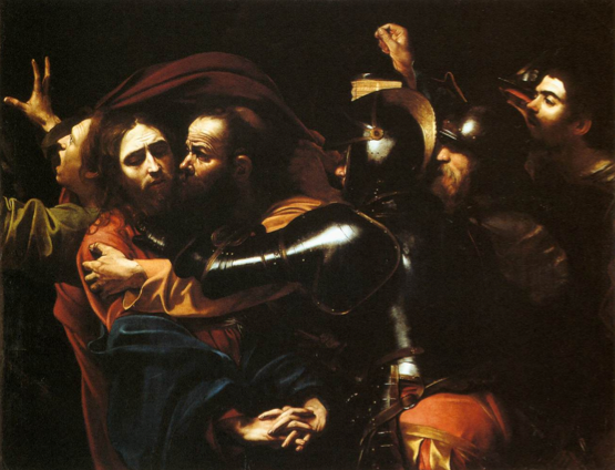 The taking of Christ - Michelangelo Caravaggio