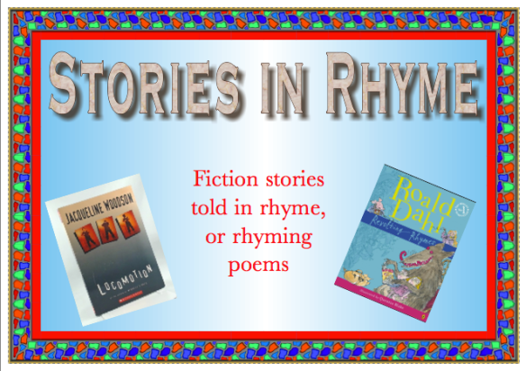 Stories in rhyme